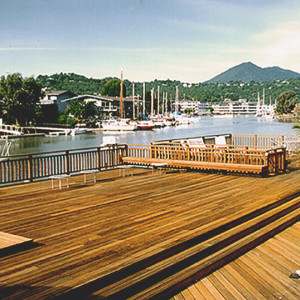Deck restoration, Marin County