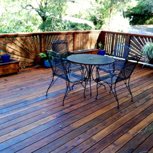 Deck Staining, Marin Couty