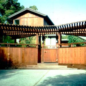 Natural Wood House, Marin County